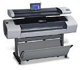 foto do  HP designjet T1100 sd mfp