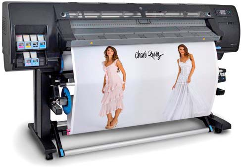 Plotter HP tinta Latex Designjet L26500