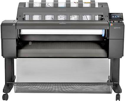 Imagem do Plotter HP Designjet T920 CR354A e CR355A